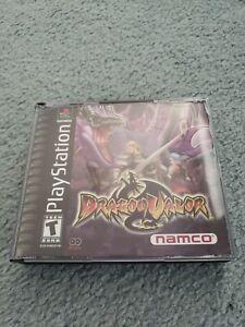 Dragon Valor PS1 Complete Rare!