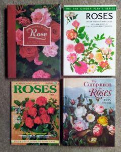 ROSES – Bulk lot – 4 books Four books on roses – economise on bulk postage…