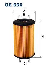 Ölfilter - Filtron OE666