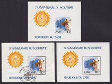 Congo Zaïre 1982 Cob#Bf.48 SCOUTISME - MNH**Luxe +Non Dentelé +Oblit CTO...A4394