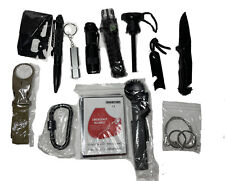 Lanqi Emergency Survival Kit 14 in 1 Tactical Survival Tool Cars Camping Hiking