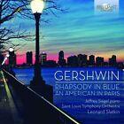 RHAPSODY IN BLUE/AN AMERICAN IN PARIS 2 CD NEU GERSHWIN,GEORGE