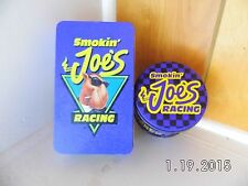 Vintage Lot Smokin Joe's Camel Tin's (2) different (One round,One Rectangle)1994