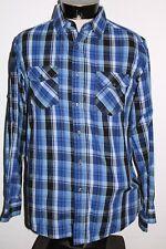 AIRWALK Mens Large L plaid Button-up shirt Combine ship Discount