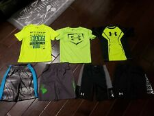 Boys Size 7 Under Armour Lot