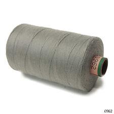 Amann 100% Polyester Core-Spun Sewing Thread  Sabac 80 1000M Color 0962 Gray