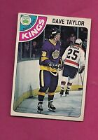 1978-79 OPC # 353 KINGS DAVE TAYLOR  ROOKIE  EX CARD (INV#2656)