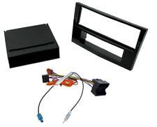Vauxhall Corsa D Piano Black Single Din Car Stereo Facia ISO and Aerial adaptor