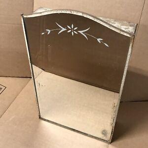 Vintage MIRROR METAL BATHROOM wall mount MEDICINE CABINET salvaged