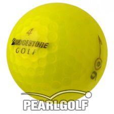 12 BRIDGESTONE E6 2012 - 2013 YELLOW GOLF BALLS - ALL PEARL - NO PEN MARKS