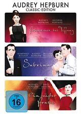 AUDREY HEPBURN CLASSIC EDITION: SABRINA/EIN SÜßER FRATZ/+  3 DVD NEU