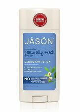 JASON NATURALLY FRESH DEODORANT STICK FOR MEN 71g- Free from Aluminium, Paraben