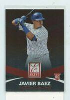 JAVIER BAEZ 2015 Panini Elite Rookie Card Rc #30 Chicago Cubs