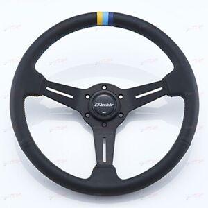 GReddy Leather Sport Steering wheel 16600001