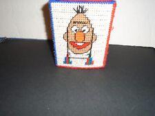 Sesame Street Hand Stitched Tissue Box Cover Bert Ernie Grover Miss Piggy