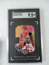 1995-96 Michael Jordan Skybox E-XL Black Border SGC 9.5 Gem Mint Bulls