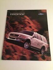 1998 Ford Expedition 24-page Original Sales Brochure