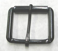 """1-1/2"""" Black Roller Belt Buckle Steel Lot of 100 pieces High Quality New"""