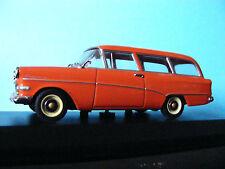 Opel Rekord P1 Caravan in orange/white Very  Rare Minichamps 1:43rd Scale