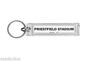 Gillingham Priestfield Stadium Street Sign / Keyring / Football Fc