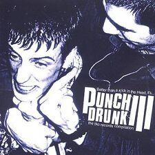 DAMAGED ARTWORK CD Various Artists: Punch Drunk 3
