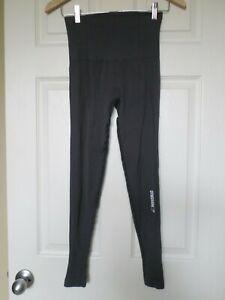 Gymshark Power Down gray ribbed leggings size S?