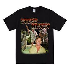 Steve Irwin Homenaje T Shirt-para hombre Camiseta Mujer Camiseta Vintage Animal Tees