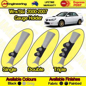 "Subaru Wrx / Sti 2000-2007 Gauge Holder Pillar Pod CLIP ON 52mm 60mm 2"" inch"