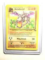 AERODACTYL - 16/62 - Fossil - Rare - Pokemon Card - NM