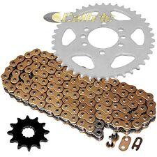 Gold O-Ring Drive Chain & Sprockets Kit Fits SUZUKI LT230S QuadSport 230 85-88