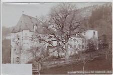 AK Schloss Weiherburg bei Innsbruck, Foto-AK 1900