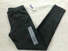 NWT OLD NAVY GRAY PONTE PANTS SIZE L(10-12)