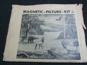 Vintage Leather Rare Picture Craftaid Set With 10 Craftaids.