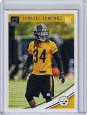 2018 DONRUSS RC TERRELL EDMUNDS PITTSBURGH STEELERS ROOKIE - C1209