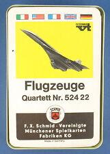 Quartett - Flugzeuge - Variante - FX Schmid - Nr. 52422 - von 1968 - FXS