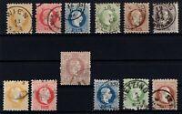 P130282/ AUSTRIA STAMPS / LOT CLASSICS 1867 – 1880 USED CV 268 $
