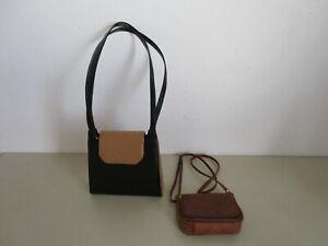 2 x Handtaschen von Valentino und Alex & Co Tasche 70er Jahre Retro Designer