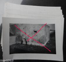 original  Foto  Nachlass 12 Bilder  EBEN Emael Belgien Fallschirmjäger
