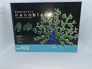 Nano-block Animal DX peacock NBM-023