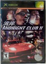 Midnight Club II XBOX Video Game with Instructions Used 2003