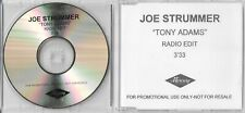 Joe Strummer & The Mescaleros (Clash) - Tony Adams - Scarce Radio Edit promo CD