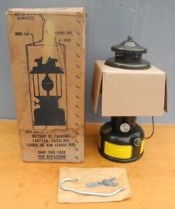 COLEMAN MILITARY ARMY LANTERN DATED 1975 NEW UNUSED WITH BOX
