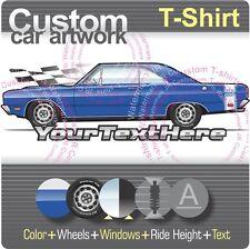 Custom T-shirt for 1969 69 Dodge Dart GT Sport GTS Hardtop V8 Hemi Mopar Fans
