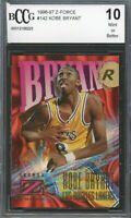 1996-97 Z-Force #142 Kobe Bryant Rookie Card BGS BCCG 10 Mint+