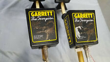 Pair of Garrett Scorpion Gold Stinger Metal Detectors
