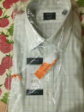 NWT ARROW CHECK  DRESS SHIRT REGULAR FIT SIZE L-FREE S&H