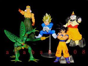 Bandai Dragonball Dragon ball Z figure DG 02 gashapon (full set of 5 figures)