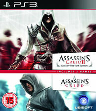 Assassins Creed 1 & 2 Double Pack ~ PS3 (in Great Condition)