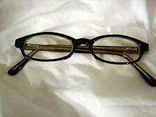 Foster Grant Reading Glasses 1.00 BROWN Plastic BRAND NEW Readers Spring Hinged