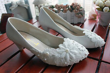 Decolté decolte scarpe donna colore bianco pizzo sposa 3 cm 8421
